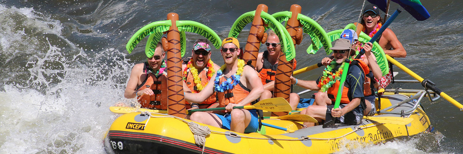 Gay Rafting at its Best!